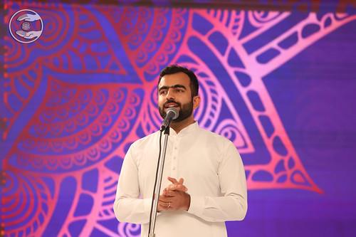 Rev Ramit Ji presented speech