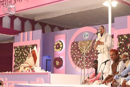 Harshada Suryavanshi Ji presented Marathi Kavita, Nashik