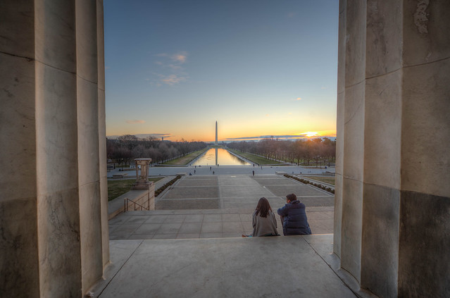 Dawn on the National Mall