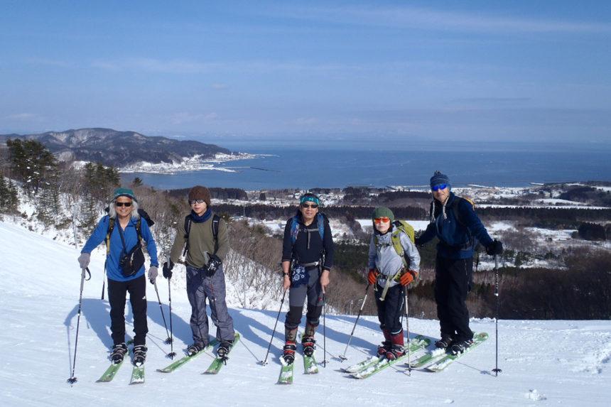 Yogoshiyama - Esquiar con vistas al mar