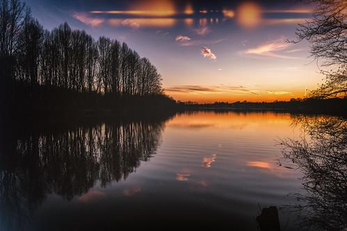buckscounty corecreek fedesk8 federicoscottophotography fujifilmxm1 sky sunset fedescotto landscape tramonti refelections