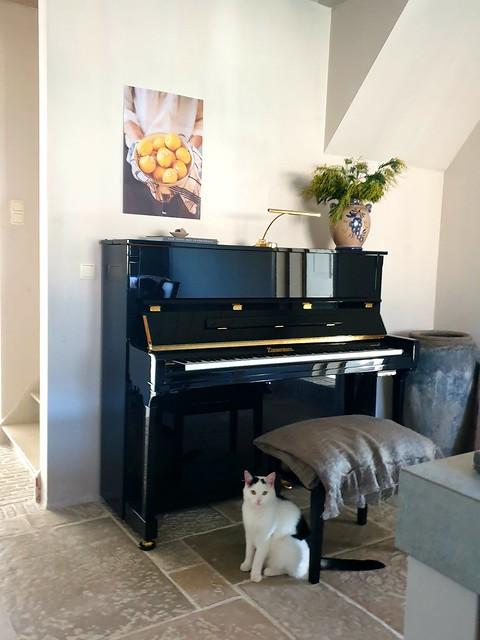 Ideeën piano decoreren landelijke stijl