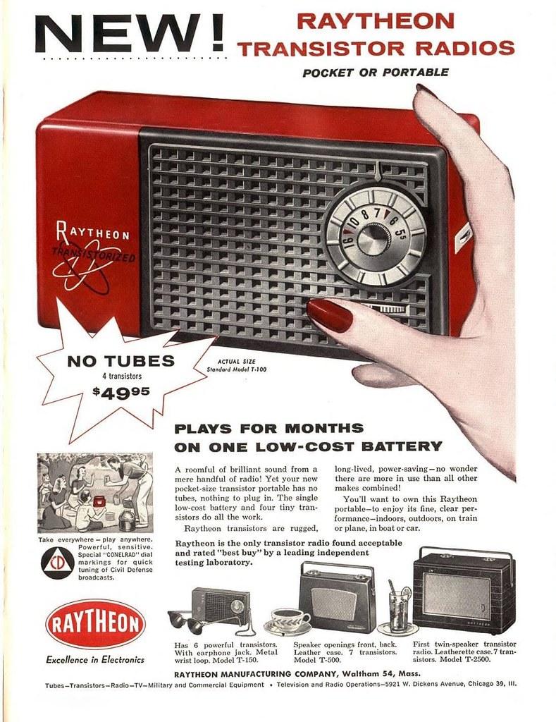 Raytheon 1956