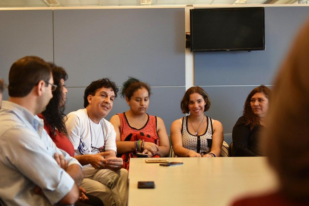 OBIERNO: Reunión con Organismos de Derechos Humanos y espacios de Género y Diversidad