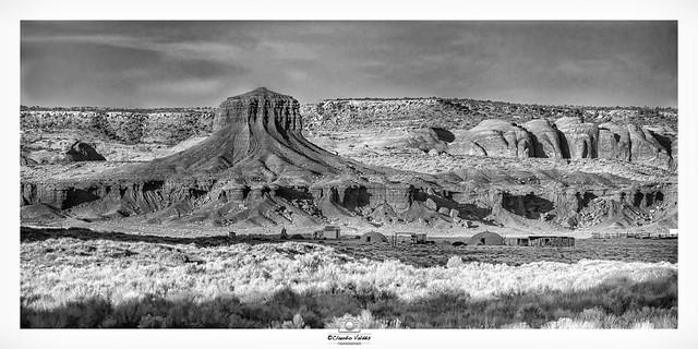 Navajo Village at Dusk