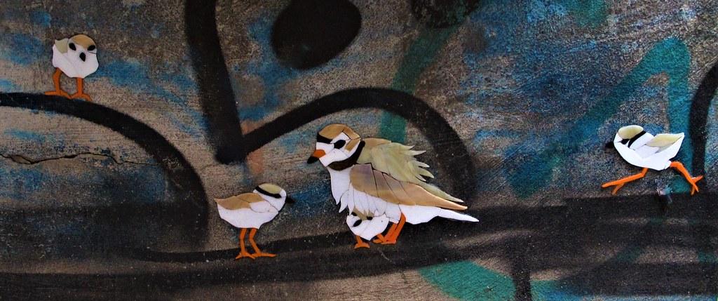3D Street Art. Lower Manhattan .