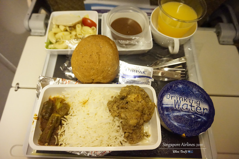 Singapore Airlines Supper