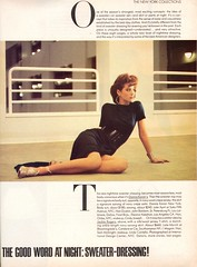 Vogue editorial shot by Denis Piel 1986