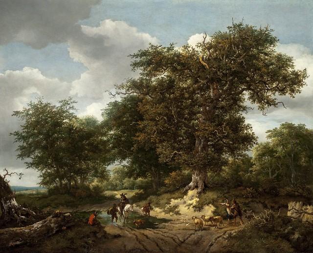 Jacob van Ruisdael, Nicolaes Pieterz Berchem - Los Angeles County Museum of Art M.91.164.1