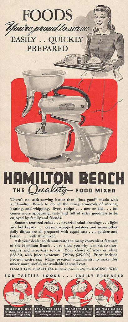 Hamilton Beach 1941