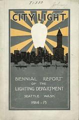 City Light biennial report, 1914-1915