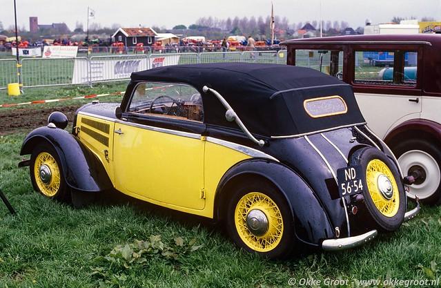 Oldtimershow Oudkarspel, mei 1986