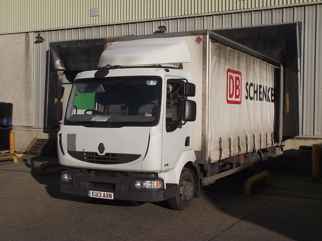DB Schenker delivery EU13AXN at A127 Laindon, Basildon on 28th-January-2019