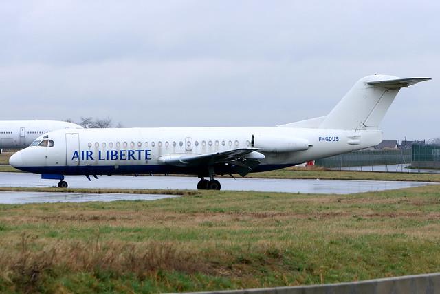 Air Liberté | Fokker F.28-2000 | F-GDUS | Paris Orly