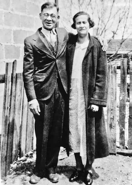 Morris & Gertrude Laurie  - Mom-Mom's Parents - 1930