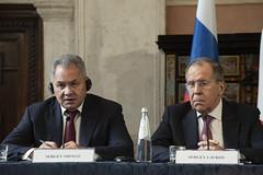Italia-Federazione Russa: vertice a Roma