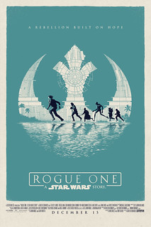 Movie Poster illustration Rogue One