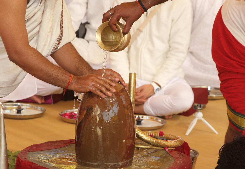 Shivaratri Abhishekam at Shaktidhaam February 21, 2020