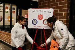 Carpino Salvation Army bell ringing.