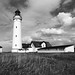 old DIA scans - Denmark lighthouse in black and white