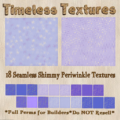 TT 18 Seamless Shimmy Periwinkle Timeless Textures