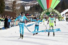 Cappello a Bertolina vítězi Gsiesertal Laufu, Mezi ženami Di Centa a Pellegrini