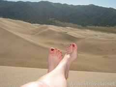 Chillaxing on the Dunes