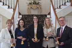 Rep. Zawistowski was recognized as a Town Crier by the Connecticut Council of Small Towns. (L-R) Rep. Zawistowski, Rep. Lavielle, Rep. McCarthy-Vahey, Sen. Cohen, and Sen. Formica.