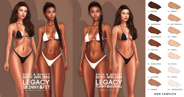 Bold & Beauty New body appliers LEGACY!!