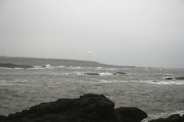 The coast near Usan, Angus