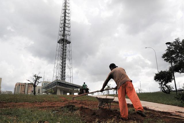 Torre de TV tem 90% da reforma concluída