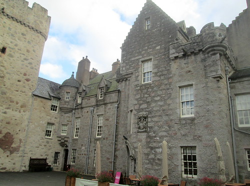 Facade of Drum Castle, Aberdeenshire