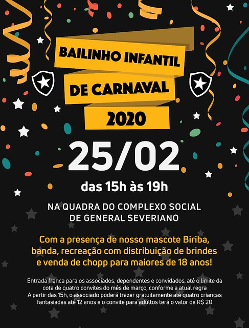 Bailinho de Carnaval 2020