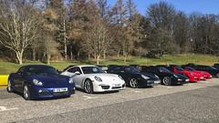 All Porsches