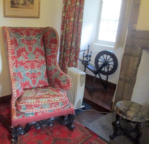 Drum Castle, Chair in Muniments Room