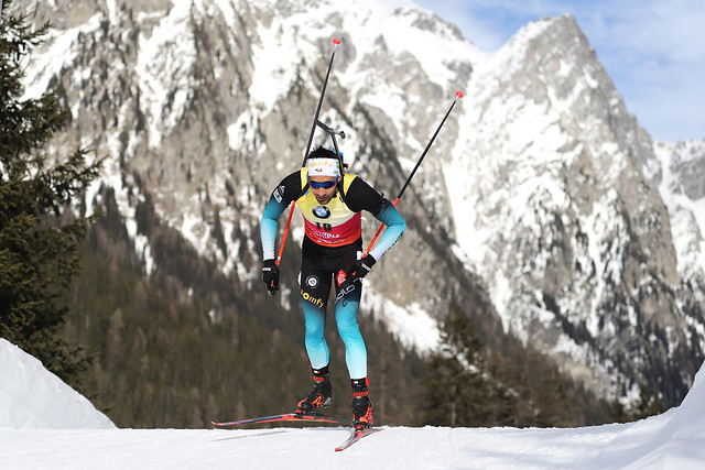 Biathlon WM Antholz 2020 Martin Fourcade