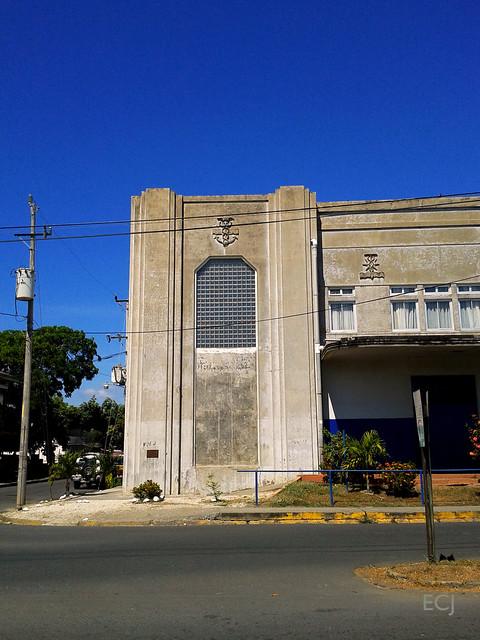 Detalle: antigua Aduana de Puntarenas/ Detail: former Puntarenas customs office