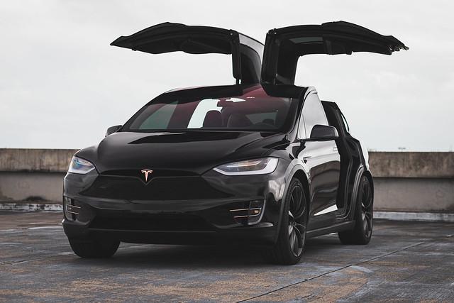 Tesla Model X Full Chrome Delete & Premium Solar tints