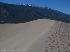 California Peak and Twin Peaks from Star Dune