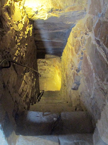 Drum Castle, Aberdeenshire, Stairs to Ground Floor
