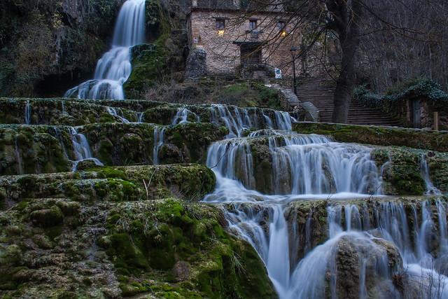 Cascada de orbaneja del castillo #seda #cascada #burgos #orbanejadelcastillo
