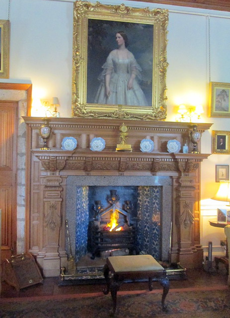Sitting Room Fireplace, Drum Castle