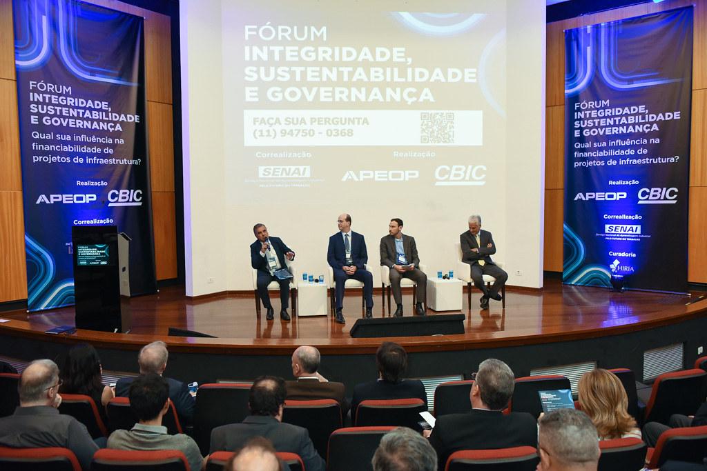 Fórum Integridade, Sustentabilidade e Governança – Qual sua influência na financiabilidade de projetos de infraestrutura