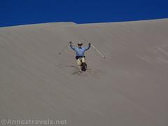 Jumping Down Star Dune