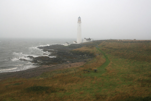 Scurdie Ness Lighthouse near Montrose