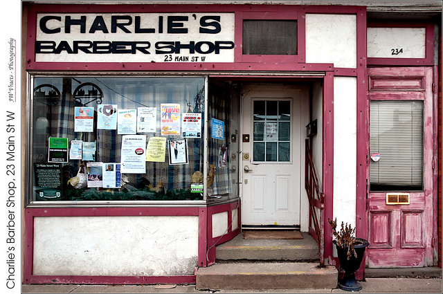 Charlie's Barber Shop, 23 Main St W