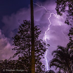 19. Veebruar 2020 - 21:04 - There were some small, fast-moving and very active thunderstorms that moved through Brisbane last night. I set up the camera on my back deck and was able to capture a few clear air strikes from one of the storms. Here are the best of them.