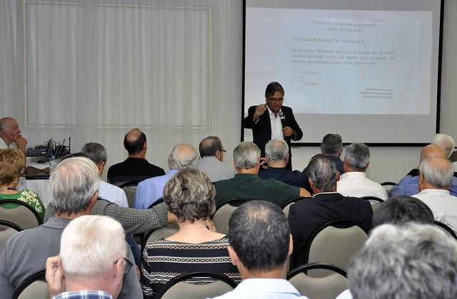 Reunião Vacina Contra Febre Aftosa