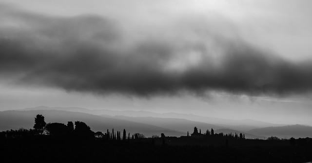 morning - hills around Santa Cristina