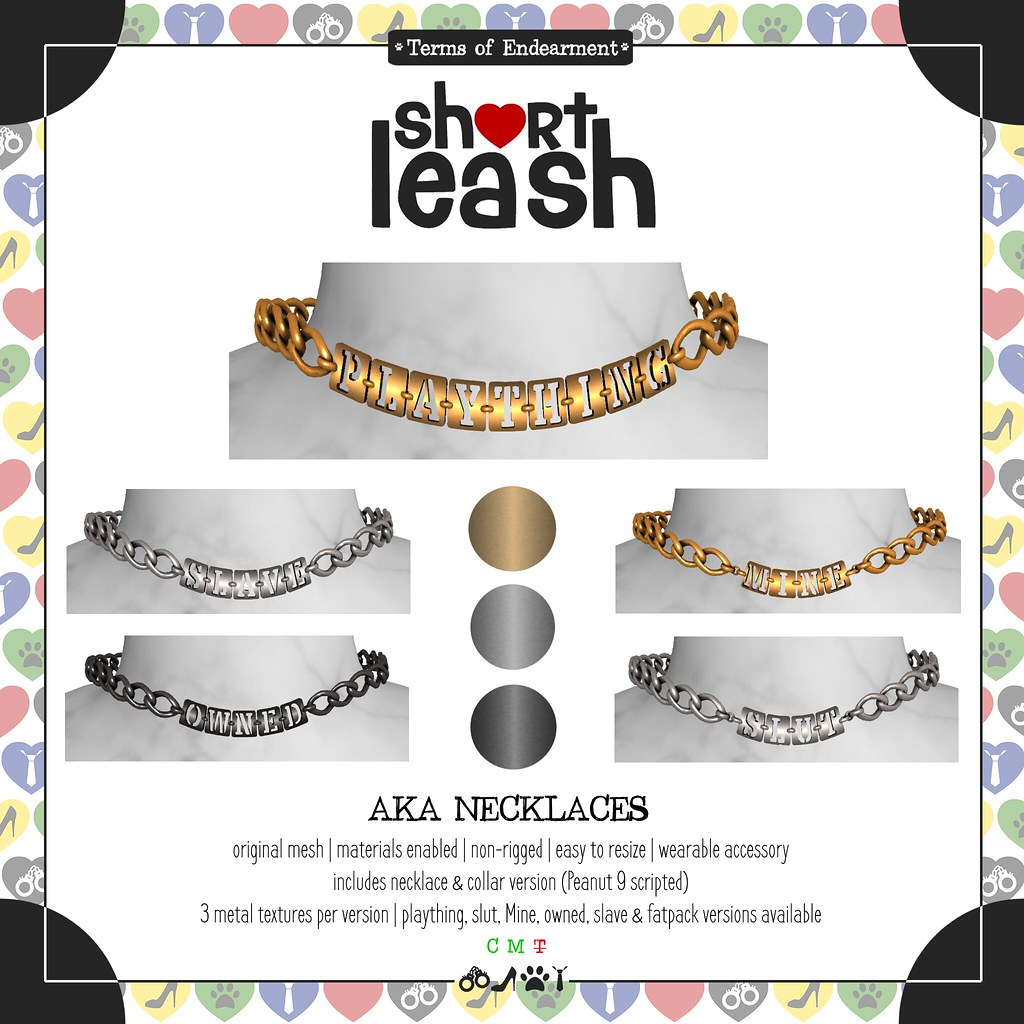 .:Short Leash:. AKA Necklaces
